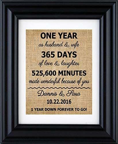 Gift Ideas For 30th Wedding Anniversary: Amazon.com: 1st Anniversary Print, 2nd Anniversary Gifts