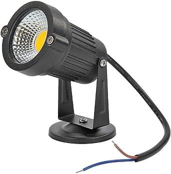 Starnearby Foco LED de 6 W blanco cálido 3000-6500 K con estaca iluminación LED para jardín foco de jardín foco para césped resistente al agua IP65 300-900 lm para exteriores Ww 75.00*60.00*60.00: Amazon.es: Iluminación