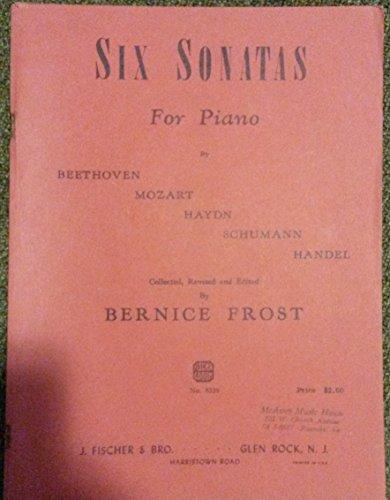 Six Sonatas For Piano (Handel Six Sonatas)