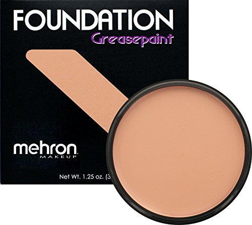Mehron Makeup Foundation Greasepaint (1.25 oz) (FAIR - Celebrities To Dress Up As Female