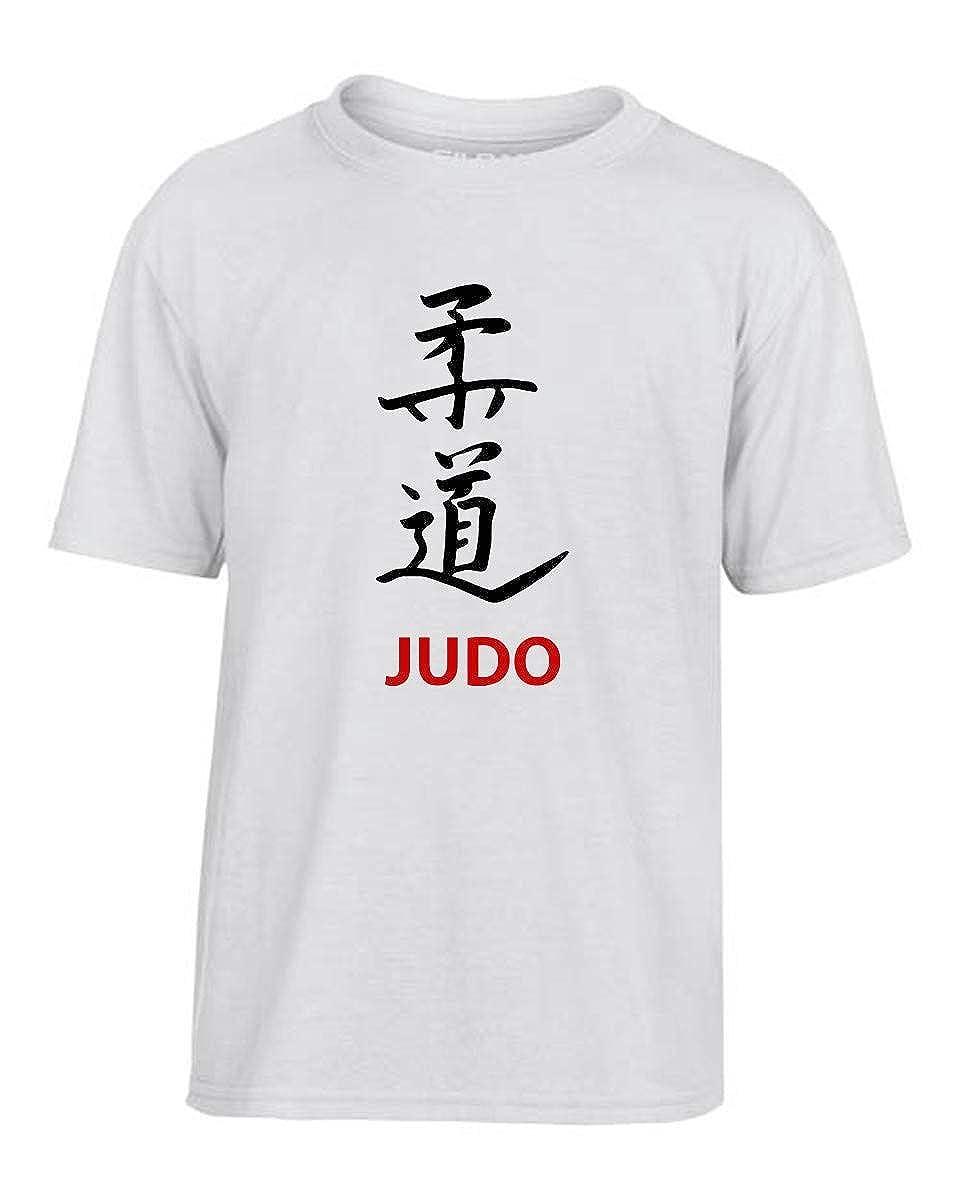 T-Shirt Bambino Bianco WTC1307 Judo