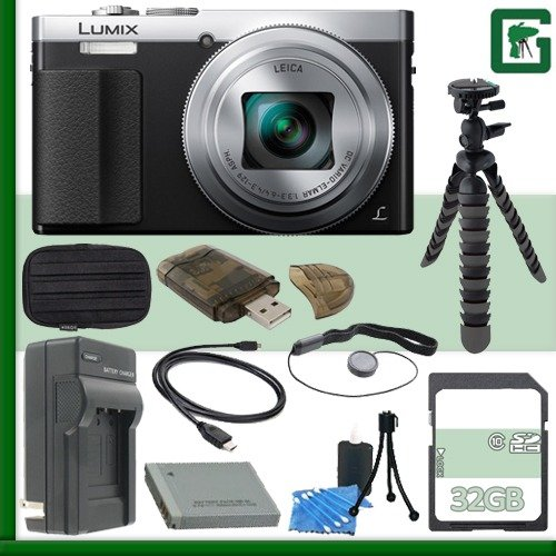 Panasonic DMC ZS50 Digital Camera Silver