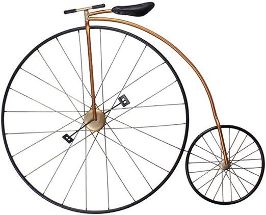 FENFOUBA Arte De Pared De Metal, Modelo De Bicicleta Retro ...