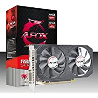 PLACA DE VIDEO AFOX RADEON RX550 4GB GDDR5 128 BITS - HDMI - DVI - DP - AFRX550-4096D5H4-V5