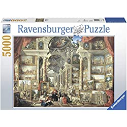 Ravensburger Views of Modern Rome - 5000 Piece Jigsaw Puzzle for Adults - Softclick Technology Means Pieces Fit Together Perfectly
