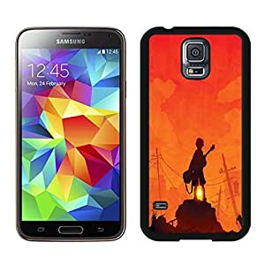 Beautiful DIY Designed With Guitar Hero Cover Case For Samsung Galaxy S5 I9600 G900a G900v G900p G900t G900w Black Phone Case CR-269