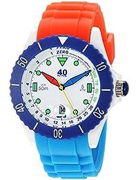 Quartz Plastic and Silicone Casual Watch, Color:Blue (Model: 40NINE02/FUN20)