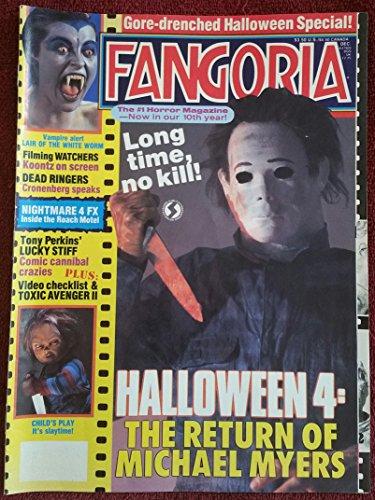 Fangoria Magazine Issue #79: Halloween 4 (December 1988) (Halloween 4 The Return Of Michael Myers 1988)