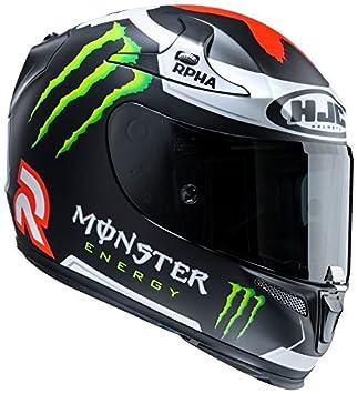 HJC Helmets RPHA 10 - Casco Plus Lorenzo Réplica III Mate MC1SF, talla XS