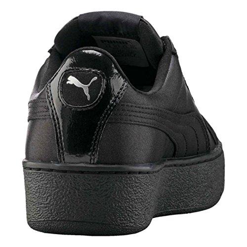 Baskets Officiel de Baskets Noir Sneakers pointe Sports forme Chaussures Vikky Puma en femme plate pour OrfOAq