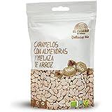 Caramelos BIO con almendras y melaza de arroz, 6 UNIDADES de 65gr/unidad, sin lactosa, sin gluten, sin aceite de…