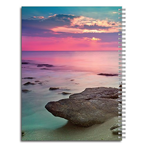 Lifeguard Personalized Religious Spiral Notebook/Journal, 120 College Ruled or Checklist Pages, durable laminated cover, and wire-o spiral. 8.5x11   5.5x8.5   Made in the USA Photo #2