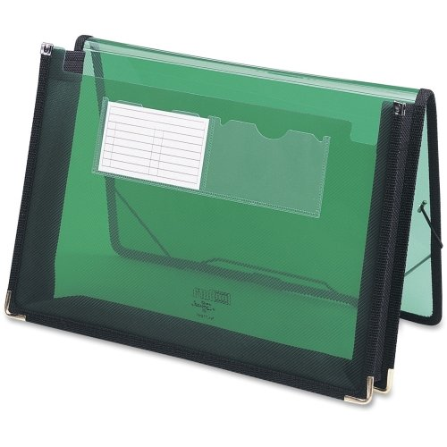 Smead 71951 Green Poly Ultracolor Wallets - Letter - 8.50quot; Width x 11quot; Length Sheet Size - 200 Sheet Capacity - 2.25quot; Expansion - 2 Pockets - Polypropylene - Green (Expansion 200 Sheet)