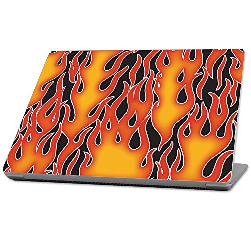 MightySkins Protective Durable and Unique Vinyl wrap cover Skin for Microsoft Surface Laptop (2017) 13.3 - Hot Flames Orange (MISURLAP-Hot Flames) [並行輸入品]   B07896VFZH
