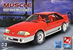 AMT Muscle 1987 Ford Mustang GT Model Kit by Learning Curve Brands, Inc. - AMT