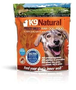 K9 Natural Freeze-Dried Raw Dog Food, Beef Gourmet, 1.1lb