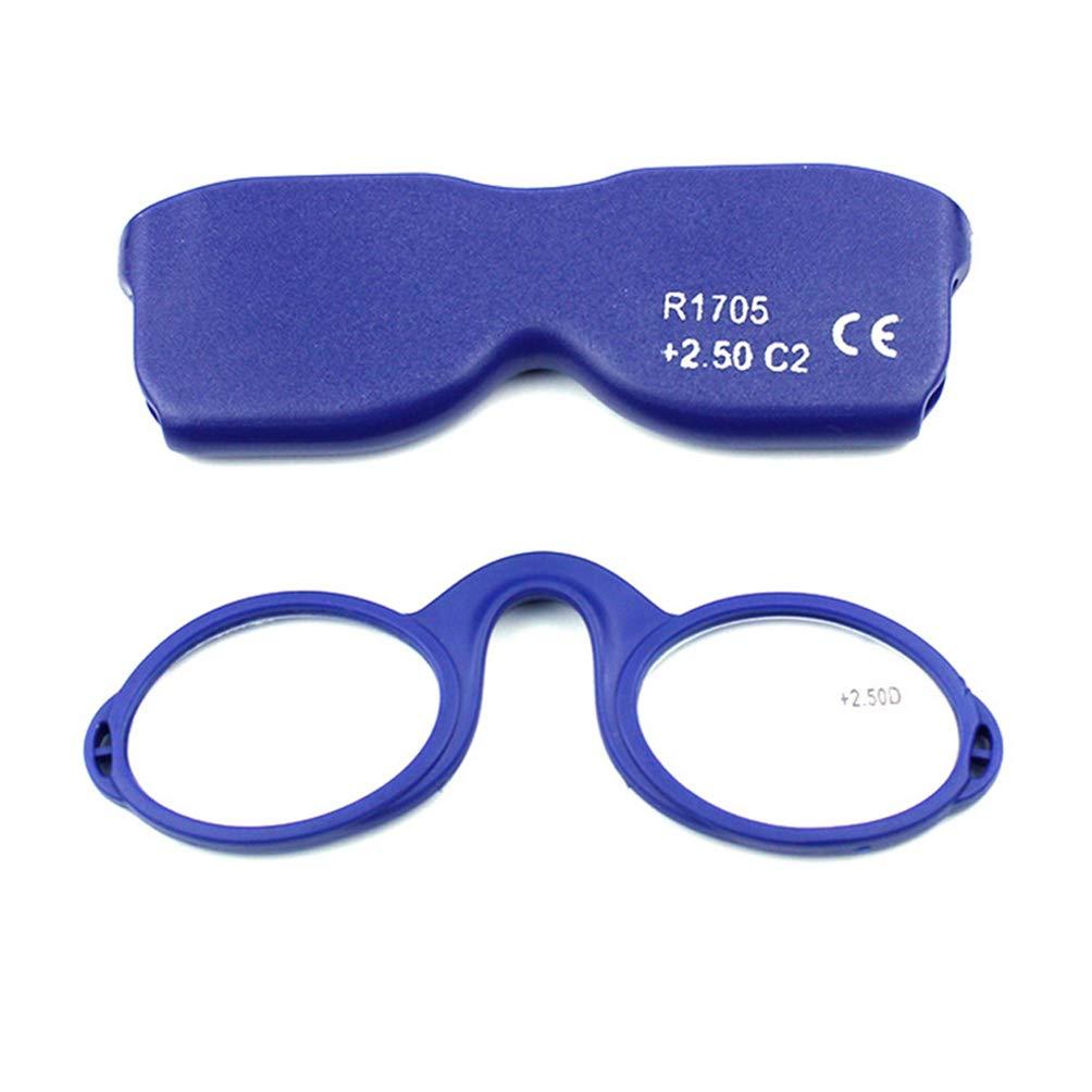 Embryform Occhiali da lettura senza montatura Occhiali da vista per uomo e donna Sempre a portata di mano 2.0