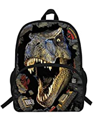 Veewow 16-Inch Tyrannosaurus Backpack Dinosaur Bag Animal Printing Backpack For Children School(D946)
