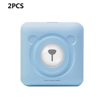ZUKN Mini Impresora Fotográfica Portátil Bluetooth Inalámbrica ...