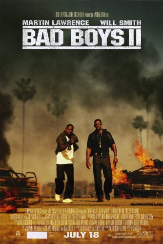 - Bad Boys II 11 x 17 Movie Poster - Style B