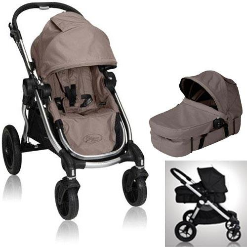 Baby Jogger BJ20257 City Select Stroller with Bassinet - Quartz