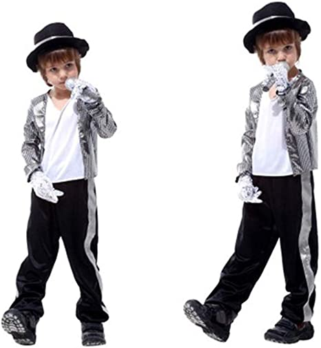 Niños Michael Jackson Disfraz Fiesta de Disfraces de Halloween ...