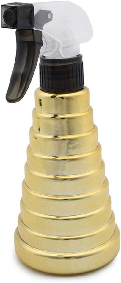 KAIKUN Mist Spray Bottle Sprayer Bottle Liquid Spray Bottle Cleaning Trigger Spray Hand Spray Bottle Atomiser Spray Bottle Water Spray Bottle Mist silver,01 Gold
