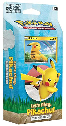 Let's Play Pikachu & Eevee! TCG Both Theme Decks Trading Card Game (Pokemon Trading Card Game Best Deck)