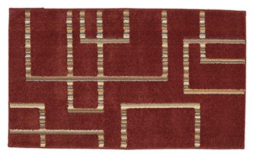 Mohawk Home Color Tones Segmentation Russet Brown Desert Area Rug, ()
