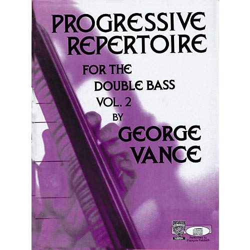 Progressive Repertoire For the Double Bass Volume 2 Pack of 2