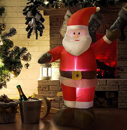 Light Up Outdoor Santa in US - 7