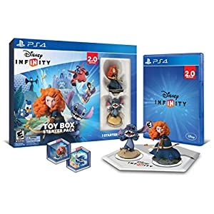 Disney INFINITY: Toy Box Starter Pack (2.0 Edition) – PlayStation 4