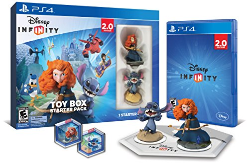 Disney INFINITY: Toy Box Starter Pack (2.0 Edition) - PlayStation 4 - Edition Starter Pack