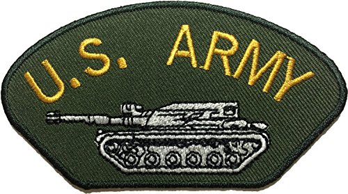 [U.S. Army Tank Battle US Military Applique Embroidered Sew Iron on Emblem Badge Costume Patch -] (Russian Costume Pattern)