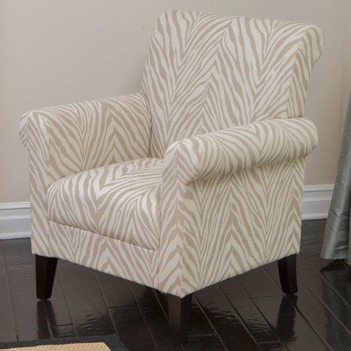 Zebra Accent Chair - 7