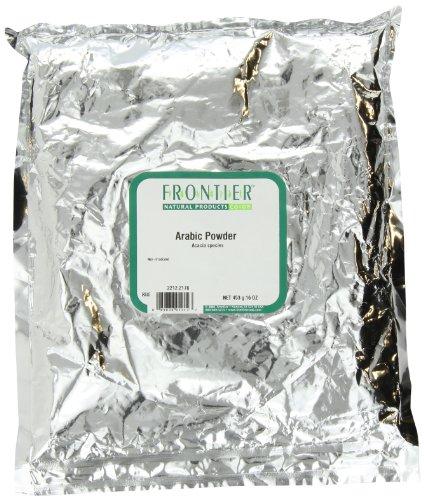 Gum Arabic Powder Frontier Natural Products 1 lb Bulk