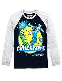 Minecraft Boys Long Sleeved Top