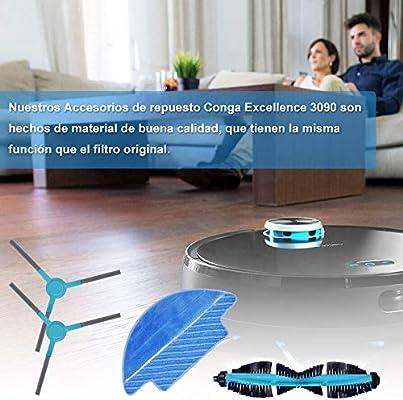 KEEPOW Kit Accesorios de Recambio para Cecotec Conga Excellence ...