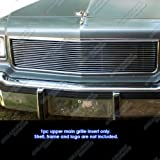 APS C86004A Polished Aluminum Billet Grille Replacement for select Chevrolet Caprice Models