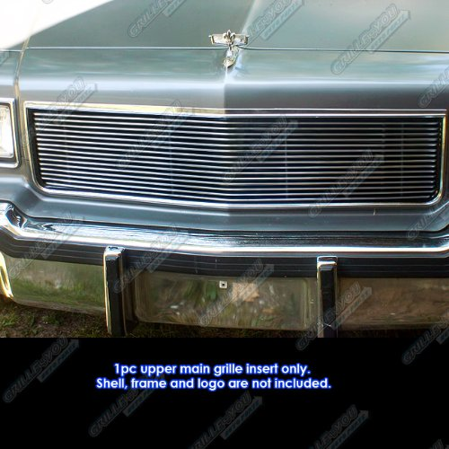 Chevy Caprice (APS C86004A Polished Aluminum Billet Grille Replacement for select Chevrolet Caprice Models)