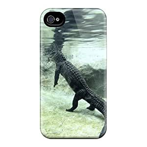 First-class For Case Iphone 4/4S Cover Dual Protection Covers Chinese Alligator