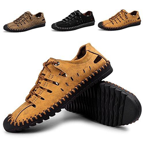 Asciugatura Sandali ZHShiny Sportivi Traspirante l'escursionismo da Uomo Sneaker Rapida Summer Taglia Grossa all'aperto per Scarpe Acqua ad Marrone O5qn5Cx