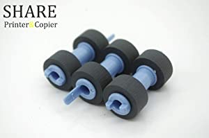 Printer Parts 100 RG399 604K11192 Pickup Roller Feed Roller for Dell DELL 3110CN 3115CN 5130CN C2660 C2665 C3765 for xerox B6200 B6200N B6250N