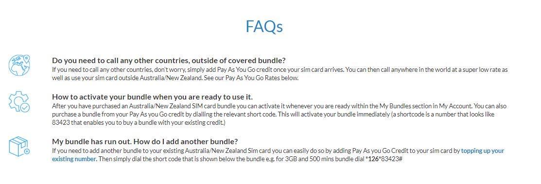 WorldSIM Australia/New Zealand SIM Card Includes Starter