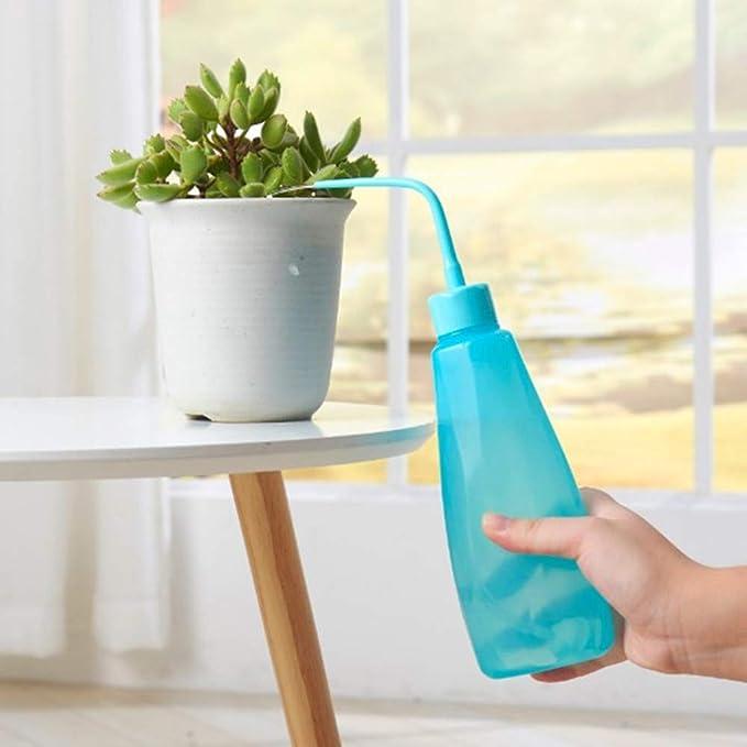 Succulents Bonsai Watering Can Squeeze Bottles With Long Nozzle Beak Dropper LP