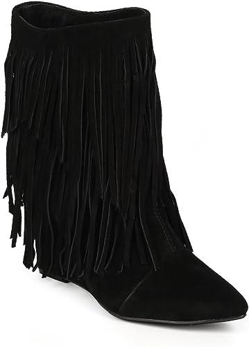 Qupid Women/'s Belted Straps Zipper Block Heel Sandal LUCITE-02