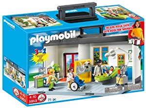 PLAYMOBIL Take Along Hospital Playset
