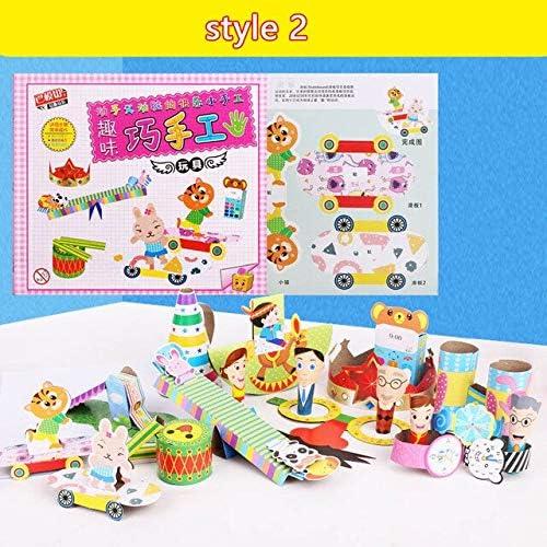 子供手芸三次元パズル子供の diy ハンドメイドモデルクリエイティブ文具カラフルな折り紙教育玩具