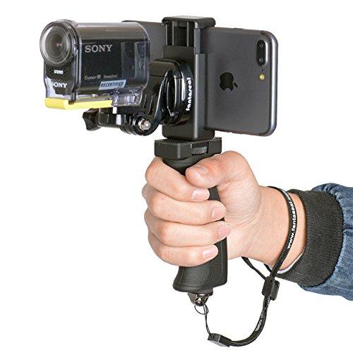 Fantaseal Ergonomic Action Camera Hand Grip Mount W
