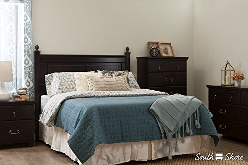 South Shore Noble Full/Queen Headboard (54/60''), Gray Maple